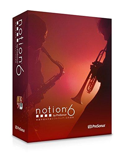 PreSonus 楽譜作成ソフトウェア Notion 6日本語版