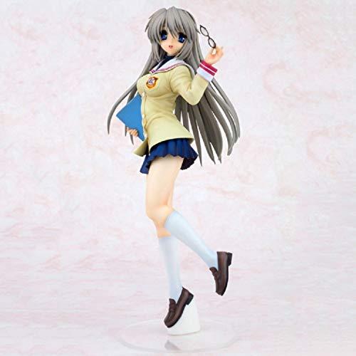 Lupovin Clannad Sakagami Tomoyo Action-Figur Wonderful Life Japan Anime Sexy Mädchen Schuluniform Ver PVC 25cm Model Collection Geschenk Spielzeug