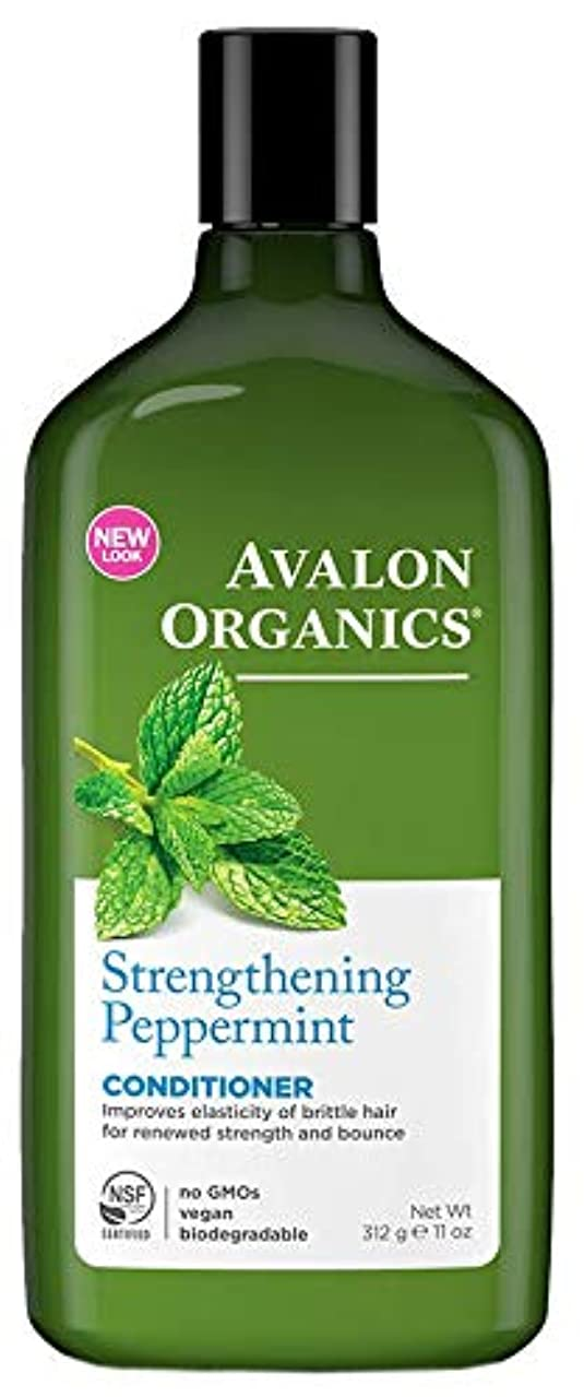 非アクティブ活性化オリエンタルAvalon Organics Peppermint Conditioner 325ml (Pack of 6) - (Avalon) ペパーミントコンディショナー325ミリリットル (x6) [並行輸入品]