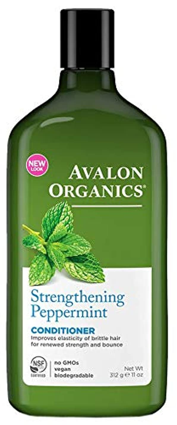 矛盾ビザ解任Avalon Organics Peppermint Conditioner 325ml (Pack of 2) - (Avalon) ペパーミントコンディショナー325ミリリットル (x2) [並行輸入品]