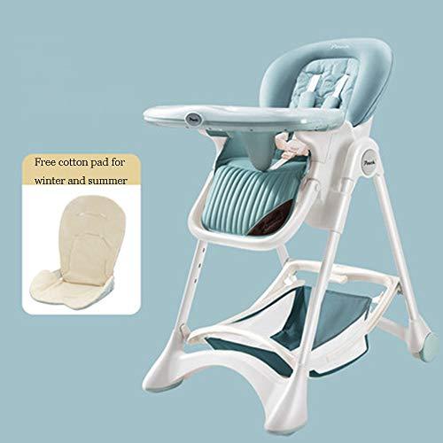 Silla De Bebé Ajustable Multifuncional Plegable Portátil para Bebé con Silla De Comedor De Placa Desmontable Disponible En Todas Las Estaciones,D
