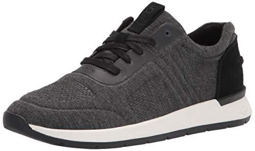 UGG Australia Damen Adaleen Jersey Sneaker, Schwarzes Trikot, 39 EU