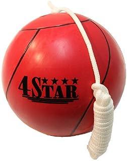 新型红色系绳球适用于玩耍地和野餐,绳索内附