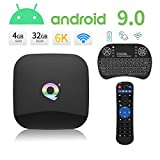 Android Boxes, Q Plus Android 9.0 TV Box Smart Media Box 4 GB
