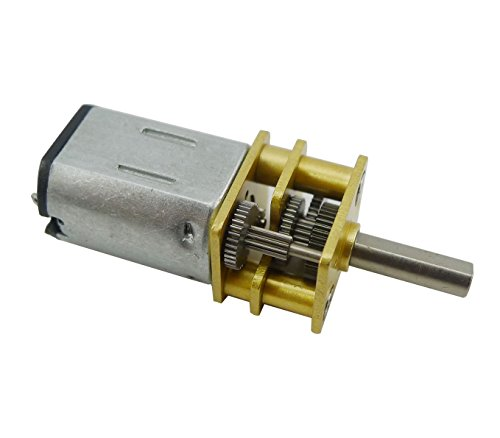 Aihasd DC 12 V 200RPM Short Shaft Torque Gear Motor