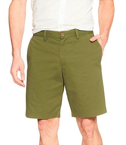 Banana Republic Herren Shorts Aiden Slim Fit New Olive Green - Grün - 38W