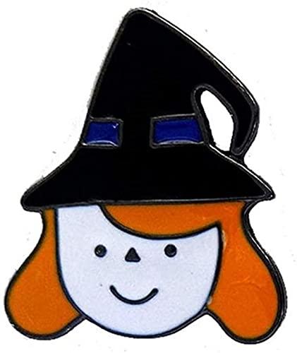 XinYiC Broche Pin Multicolor Cristales Rhinestone Halloween Broche Pins Invierno Joyería #C