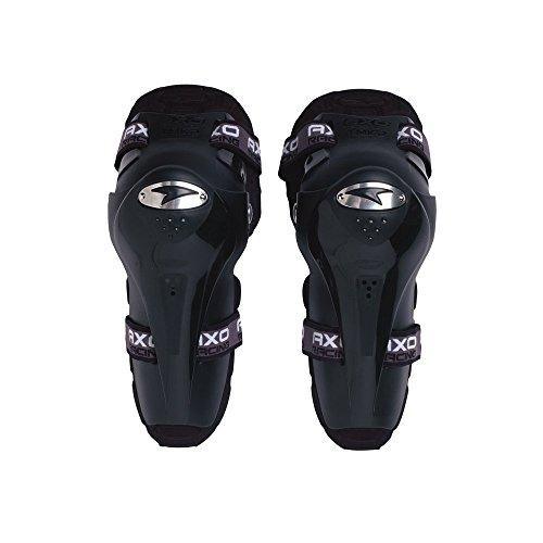 AXO MX009735 - Coderas y rodilleras junio, color negro