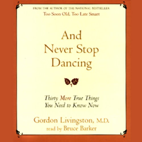 And Never Stop Dancing audiobook cover art