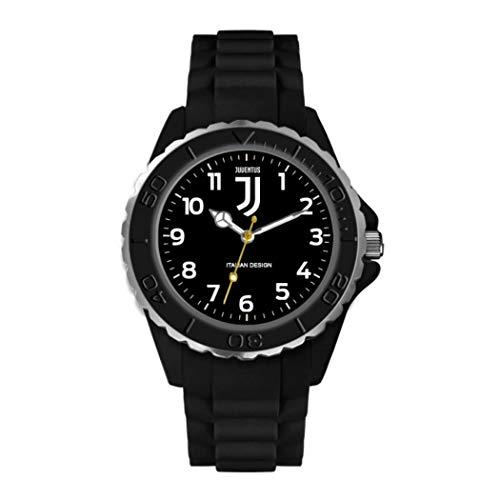orologio della juventus Orologio Lowell juventus p-jn382kn5 Al quarzo (batteria) Acciaio Quandrante Nero Cinturino Silicone