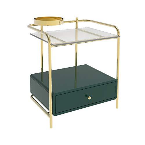 SPRINGHUA Mesitas de noche compatibles con dormitorio nórdico moderno de mesa compatible con...