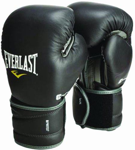 Everlast Protex2 Guantes de Boxeo, Unisex, Negro, 14oz (L-XL