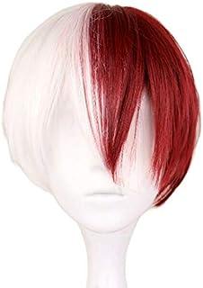 شعر مستعار على نمط شعر شخصية تودوروكي شوتو من انمي ماي هيرو اكاديمي