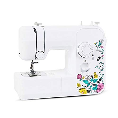 Review Sewing Machines Electric Desktop Multi-Function with Sewing Side Small Eating Thick 17 Kinds ...