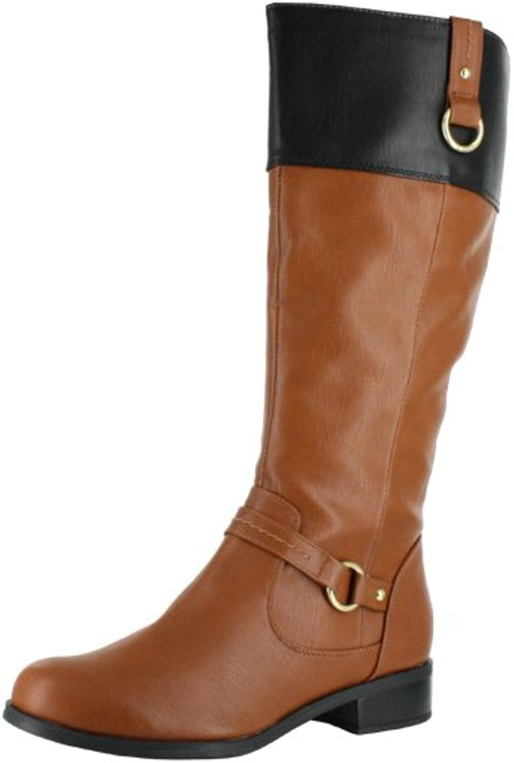 Soda Sam-H Two Toned Riding Boot