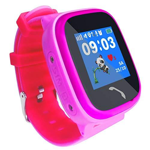 VIDIMENSIO GPS Telefon Uhr Kleiner Delfin - violett (Wifi), WASSERDICHT, OHNE Abhörfunktion Abbildung 2