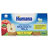 Humana Omogeneizzato Mela Bio - 12 Vasetti da 100 gr...