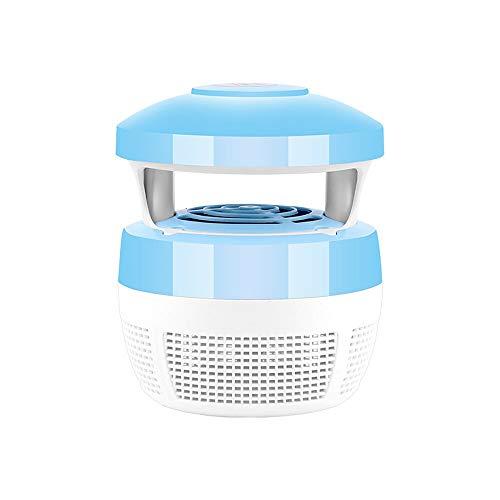 TSYMQ Mosquito Killer Licht, USB Smart optisch gesteuerte Insekten tötungslampe, Insekt Killer Lampe Haus Fliegenabweisend, für, Schlafzimmer, Hof, Garten, Büro blau
