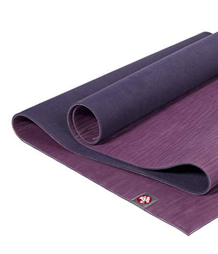 Manduka eKOlite Yoga Mat – Premium 4mm Thick Mat, Eco Friendly and Made from Natural Tree Rubber. Ultimate Catch Grip for Superior Traction, Dense Cushioning for Support and Stability in Yoga, Pilates