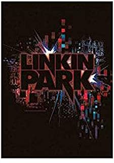 Flagline Linkin Park -Splatter Textile Poster (30 inches by 40 inches)