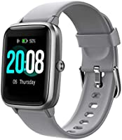 LIFEBEE Smartwatch, Reloj Inteligente Impermeable IP68 para Hombre Mujer niños, Pulsera de Actividad Inteligente con...