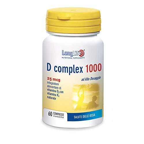 Longlife D Complex 1000 U.I. - 60 Gr