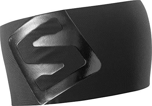 Salomon Unisex Multisport-Stirnband, RS PRO HEADBAND, Schwarz (Black/Shiny Black), Einheitsgröße, L40293100