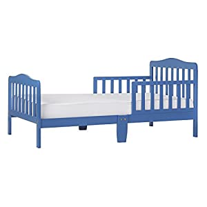 Dream On Me Classic Design Toddler Bed in Wave Blue, Greenguard Gold Certified
