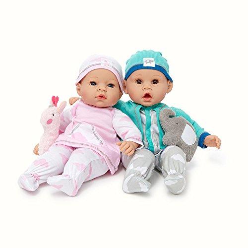 Madame Alexander Middleton Doll Newborn Twins, 16 inch