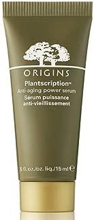 Origins Plantscription Anti-aging Power Serum 0.5 Fl. Oz./15 Ml; Travel Size by Origins