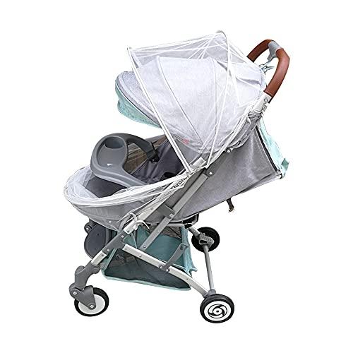 Kaimeilai Zanzariera universale per passeggino, zanzariera per passeggino, a maglia fine, per passeggini e lettini da viaggio, zanzariera con elastico