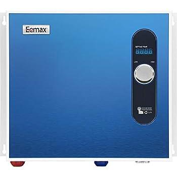 Eemax EEM24036 Electric Tankless Water Heater 36Kw Blue