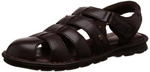 Hush Puppies Men's Rebound Brown Flip Flops Thong Sandals - 9 UK/India (43 EU) (8644917)