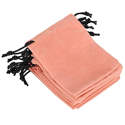 Sac de Rangement à cordon-10Pcs Cordon de Velours Bijoux Sac à cosmétiques Sac de Rangement Sac-Cadeau (10 x12cm)