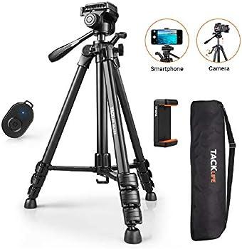 Tacklife 360 Degree Swivel Camera/Phone/Travel Tripod