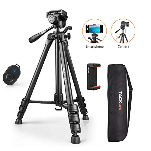 Tripod, 60-Inch Aluminum Camera/Phone/Travel Tripod Now $24.99