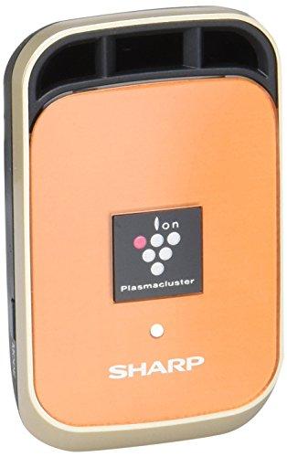シャープ イオン発生機 車用 カーエアコン取付タイプ プラズマクラスター25000搭載 オレンジ IG-HC1-D