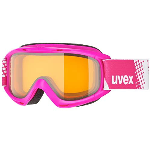 uvex Unisex Jugend, slider LGL Skibrille, pink, one size