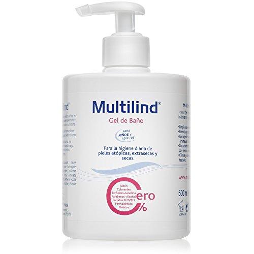 Multilind 1654199 - Gel de Baño para Pieles Atópicas, Extrasecas y Secas - 500ml