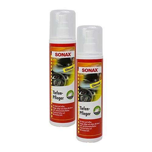Preisvergleich Produktbild SONAX 2X 03800410 TiefenPfleger Glänzend KunststoffReiniger 300ml
