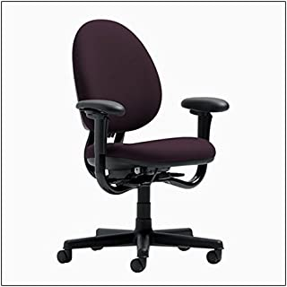 Steelcase Criterion High-Back Work Chair by Steelcase, color = Eggplant