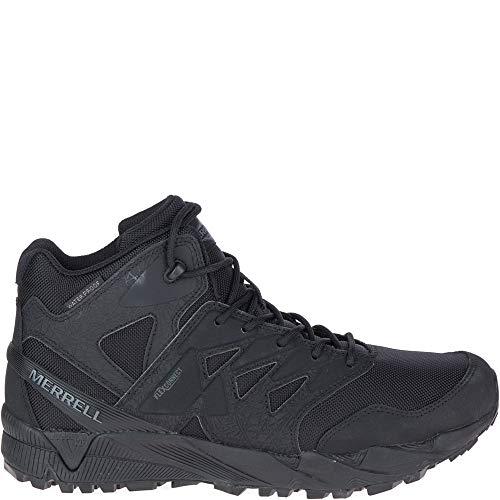 Merrell Unisex Work Agility Peak Mid Tactical Waterproof Shoes, Black, 5