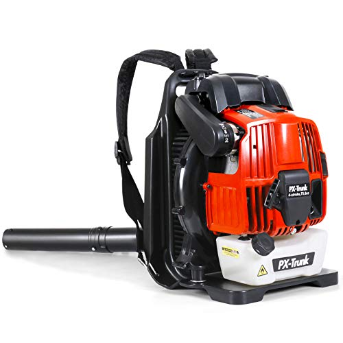 PX-Trunk Gas Leaf Blower Gas Powered Blower 76cc 4 Cycle...