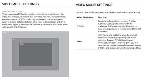 GoPro Fusion - Appareil Photo Numérique VR Étanche 360 avec Vidéo Sphérique CHDHZ-103 - 12