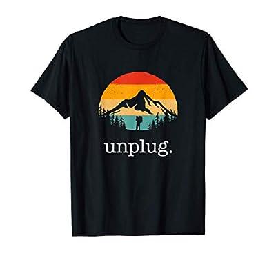 Unplug. Hiking Apparel - Hiker Hiking T-Shirt