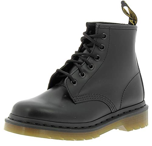 DR. MARTENS MAN 6 EYE BOOT BLACK SMOOTH (43)