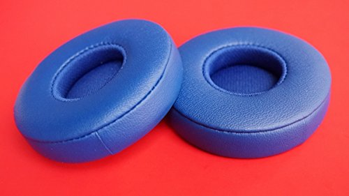 Replacement Ear Pad Earpads Leather Cushion Repair Parts for Beats EP On-Ear Wired Auriculares Headphones Earmuffs Cushion (Blue)