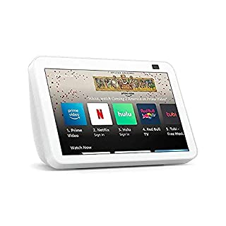 All-new Echo Show 8 (2nd Gen, 2021 release)   HD smart display with Alexa and 13 MP camera   Glacier White (B084DC4LW6)   Amazon price tracker / tracking, Amazon price history charts, Amazon price watches, Amazon price drop alerts