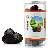 Mizzuco Black Garlic, 920G/32.45 OZ WHOLE Black Garlic Natural Fermented for 90 days Healthy Snack Ready to Eat or Sauce
