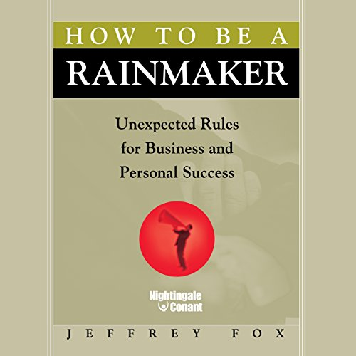How to Be a Rainmaker audiobook cover art